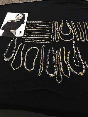 Bulk lot Gold Plated Jewellery BNWOT RRP Over $2000 Lot 2 Reduced