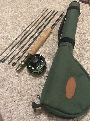 Cabela's Stowaway 6 Fly Rod With Redington Surge 3/4 Reel In Case
