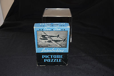 Vintage Five Star Interlocking Picture Puzzle - P-38 - Photo by Rudy Arnold