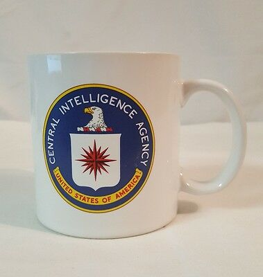 Central Intelligence Agency COFFEE CUP