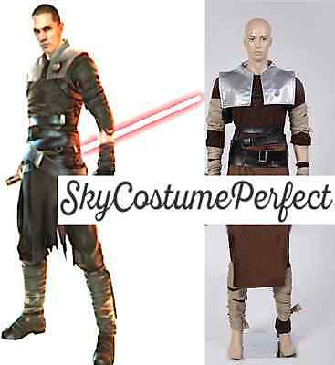 FREE SHIP Star Wars The Force Unleashed StarKiller Cosplay Costume PERFECT