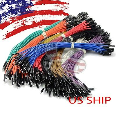 40pcs 10cm Female To Female Dupont Wire Jumper Cable for Arduino Breadboard