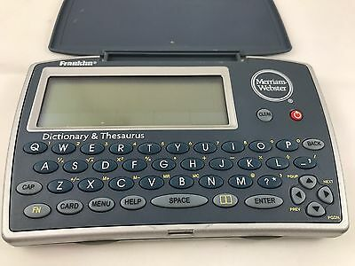 Franklin MWD-1450 Dictionary & Thesaurus Spelling Corrector (needs Battery)