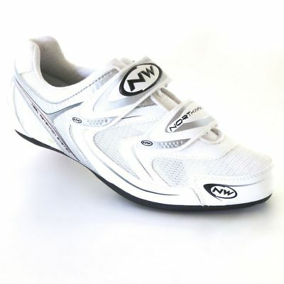 Northwave Jet Road Bike Shoes White Size 48