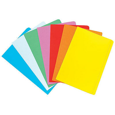 Marbig Manilla Folders Pack of 40 - Assorted Colours