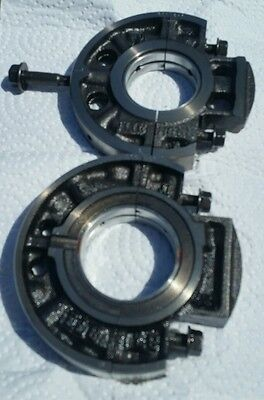 Kubota Z482 Main Bearing Carriers Diesel Engine 2 Cylinder Set of 2 D722