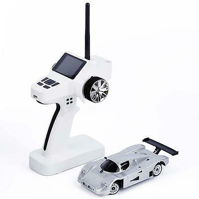 Drift Toy Gift New Two Wheel Drive 2WD Enlectronic Remote Control Car Silver  GT