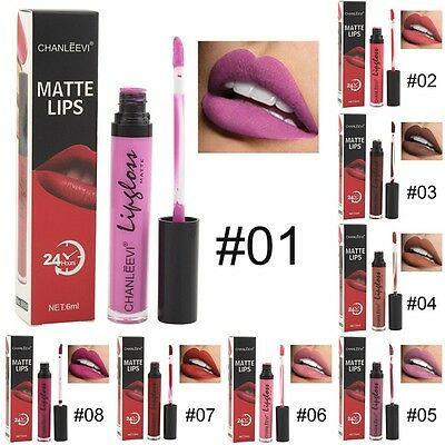 Rossetto Matte Lipstick Long Lasting Lip Gloss Make Up Beauty Cosmetics Lip Kit