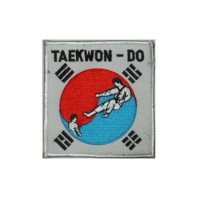 Taekwondo - Kick inside Korean Flag - Lot of 10