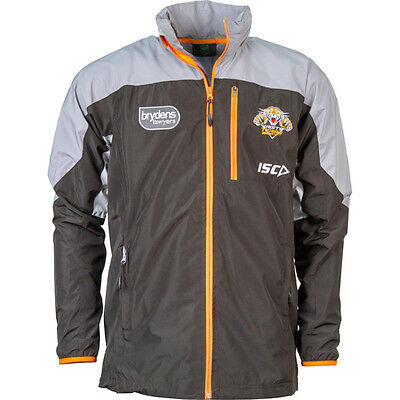 Wests Tigers NRL ISC Players Wet Weather Jacket Size S-5XL! BNWT's! 6
