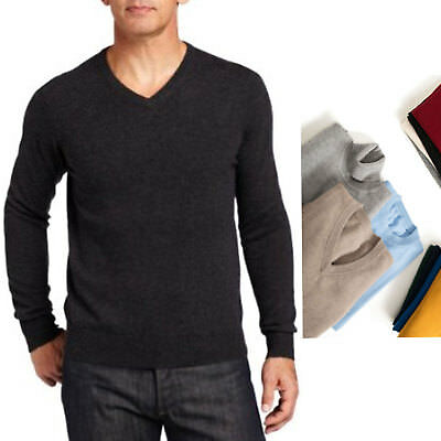 mens Cashmere sweater Pullover Jumper NEW plain winter Apparel Indie wool kala