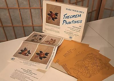 1970s Vintage NIB Velveteen Theorem Painting Kit Complete Rare One Of A Kind DIY