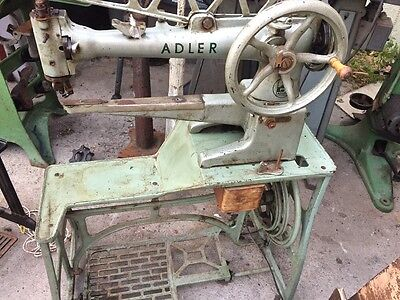 Adler 30-7 Long Arm Shoe Sewing Machine with Stand