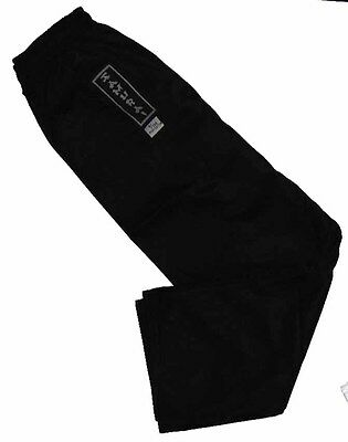 8oz Black Pants (elastic Waist)