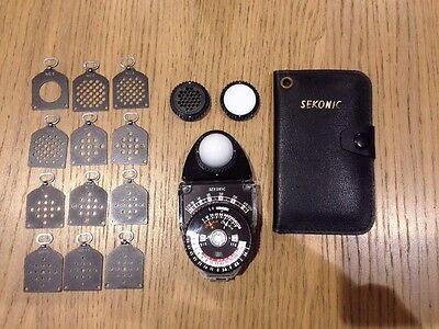 Sekonic L-398 Light Meter