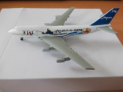 Japan Airlines JAL 1:500 Boeing 747-400D WM2002 World Cup 2002 Japan