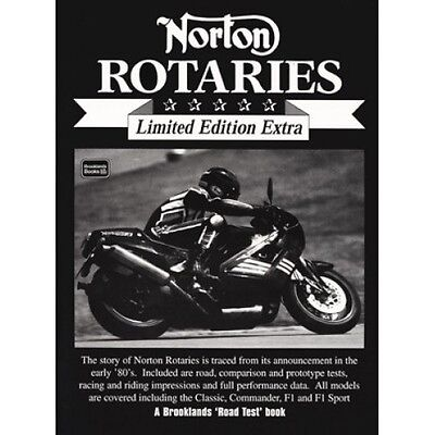Norton Rotaries Limited Edition Extra book paper
