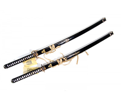 Demon and Tiger Samurai Sword Set