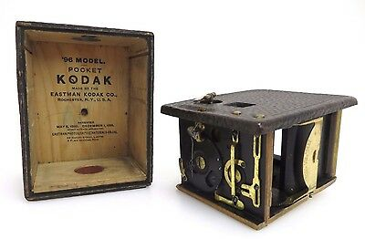 KODAK Eastman 96 Model POCKET BOX Historische Boxkamera br007