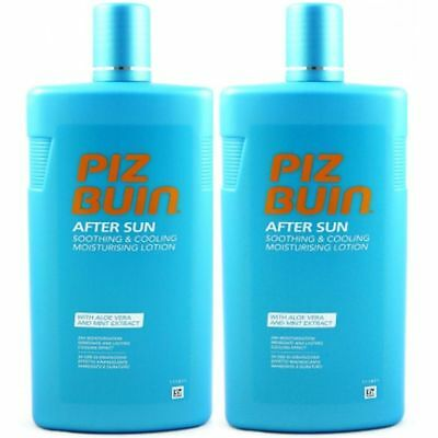 Piz Buin After Sun Lotion 24 H kühlende Feuchtigkeitslotion 2 x 400 ml Set