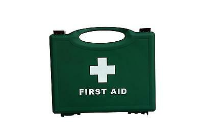 Qualicare Empty Green First Aid Box (1-50 Person)