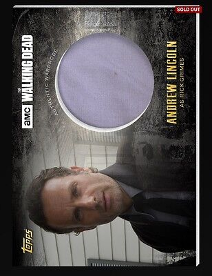 Topps The Walking Dead Digital Card Trader Rick Grimes Relic