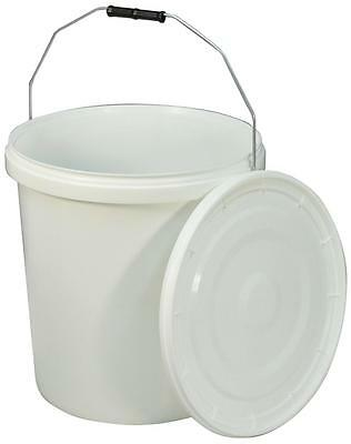 Commode Bucket and Lid for Norfolk Commode Chair - 20 Litre