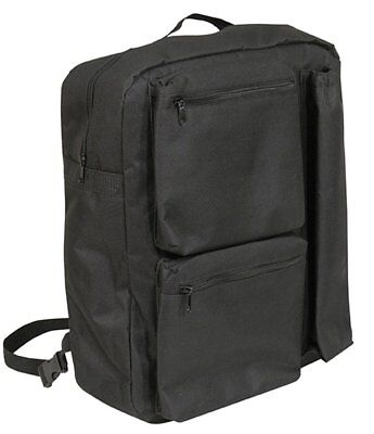 Aidapt Black Deluxe Lined Scooter Crutch Bag