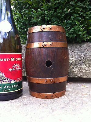 small mini  oak barrel brandy / calvados sherry oak whisky French