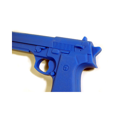Rubber Training Gun - Beretta blue marbled