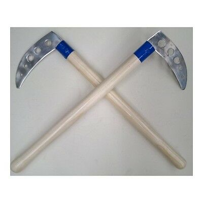 Non-Live Competition Kama Natural Wood 50cm - pair