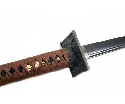 Shinwa Folded Steel Black Knight Ninja Sword