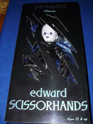 Living Dead Dolls EDWARD SCISSORHANDS New & Sealed NRFB Mezco Limited Edition