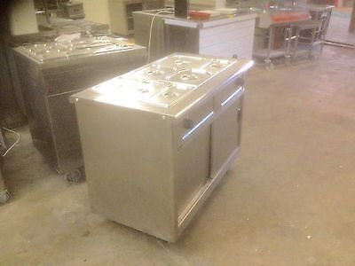 Mobile Lincat GBM3 Hot Cupboard With Bain Marie £295 + vat
