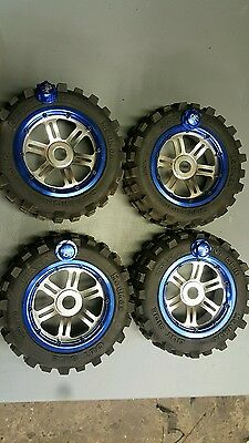 Losi 5ive t alloy wheels and tyres