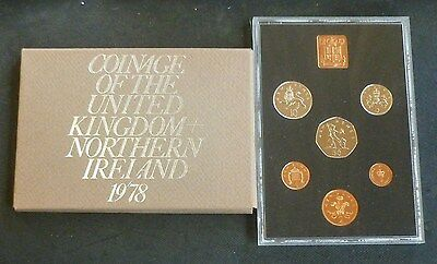 1978 Royal Mint UK Proof 6-Coin Year Set
