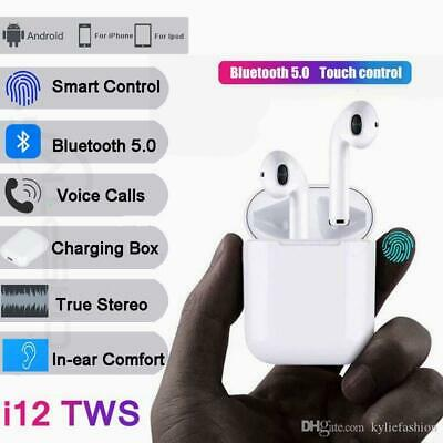 TWS Mini True Wireless Bluetooth Twins Stereo In-Ear Headset Earphone Earbuds