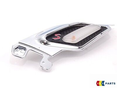 New Genuine Mini Countryman Paceman S Left N/s Chrome Turn Signal Trim 9804617
