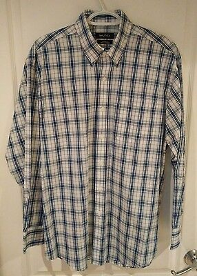 Mens NAUTICA Long Sleeve Button Shirt - Classic Fit Size 15 1/2 32/33