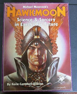 Hawkmoon Role-Playing Game 1986 Michael Moorcock Chaosium Ex+