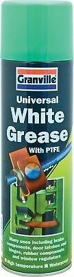 Granville Universal White Grease PTFE Spray Lubricant Water Repellent 500ml