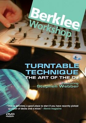 Turntable Technique 2nd Edition The Art of the DJ Berklee Guide Book 050449482