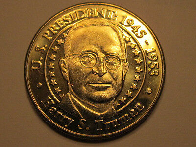 US President Harry S. Truman Sunoco Presidential Coin Series 2000 token