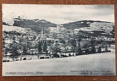 Strathpeffer Ross & Cromarty - A Wintry Scene pu 1904