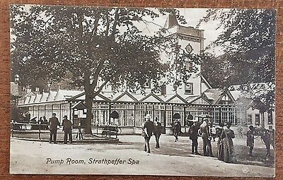 Strathpeffer Ross & Cromarty - The Pump Room p/u 1910