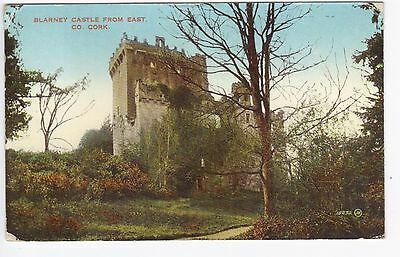Postcard of Blarney Castle from East, Co Cork Posted 1939