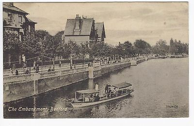 Postcard of The Embankment Bedford