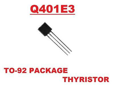 Q401E3 Q401 E3 GATED TRIAC ISOLATED THYRISTORS ( Qty 25 ) *** NEW ***