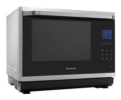 Panasonic NN-CF873SBPQ 1000W Combination Microwave 32L Flatbed Stainless Steel