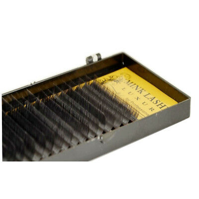 Einzelwimpern Wimpernverlängerung Lash Extensions Mix MINK Lashes BCD-Curl 16-R.